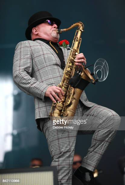 Lee Thompson of Madness performs at Electric Picnic Festival at Stradbally Hall Estate on September 2 2017 in Laois