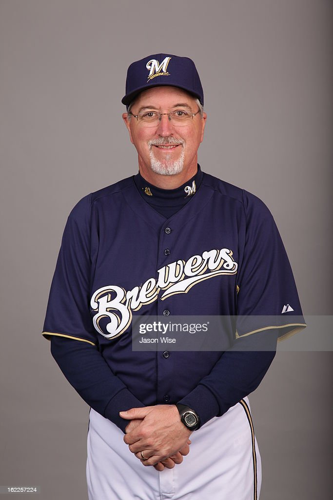 Lee Tunnell #43 of the Milwaukee Brewers poses during Photo Day on February 17, 2013 at Maryvale Baseball Park in Phoenix, Arizona.