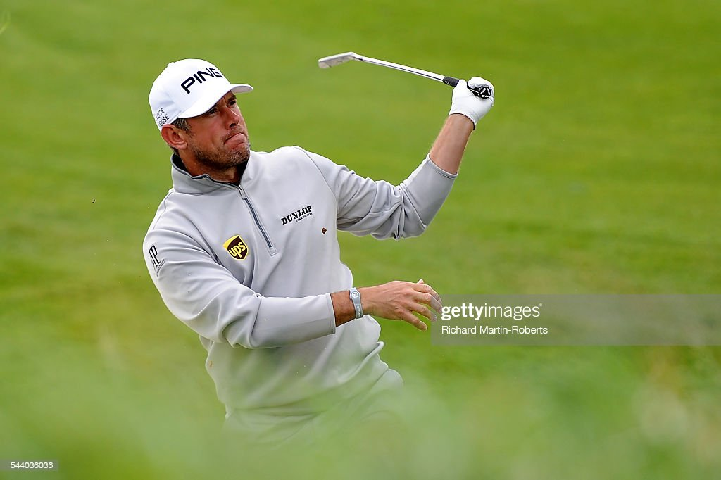 <a gi-track='captionPersonalityLinkClicked' href=/galleries/search?phrase=Lee+Westwood&family=editorial&specificpeople=171611 ng-click='$event.stopPropagation()'>Lee Westwood</a> of England hits his 2nd shot on the 12th hole during the second round of the 100th Open de France at Le Golf National on July 1, 2016 in Paris, France.