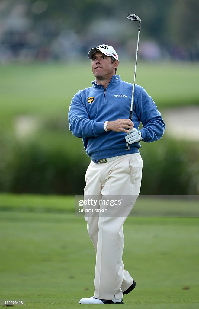 <a gi-track='captionPersonalityLinkClicked' href=/galleries/search?phrase=Lee+Westwood&family=editorial&specificpeople=171611 ng-click='$event.stopPropagation()'>Lee Westwood</a> of England plays a shot during the third round of the Honda Classic on March 2, 2013 in Palm Beach Gardens, Florida.