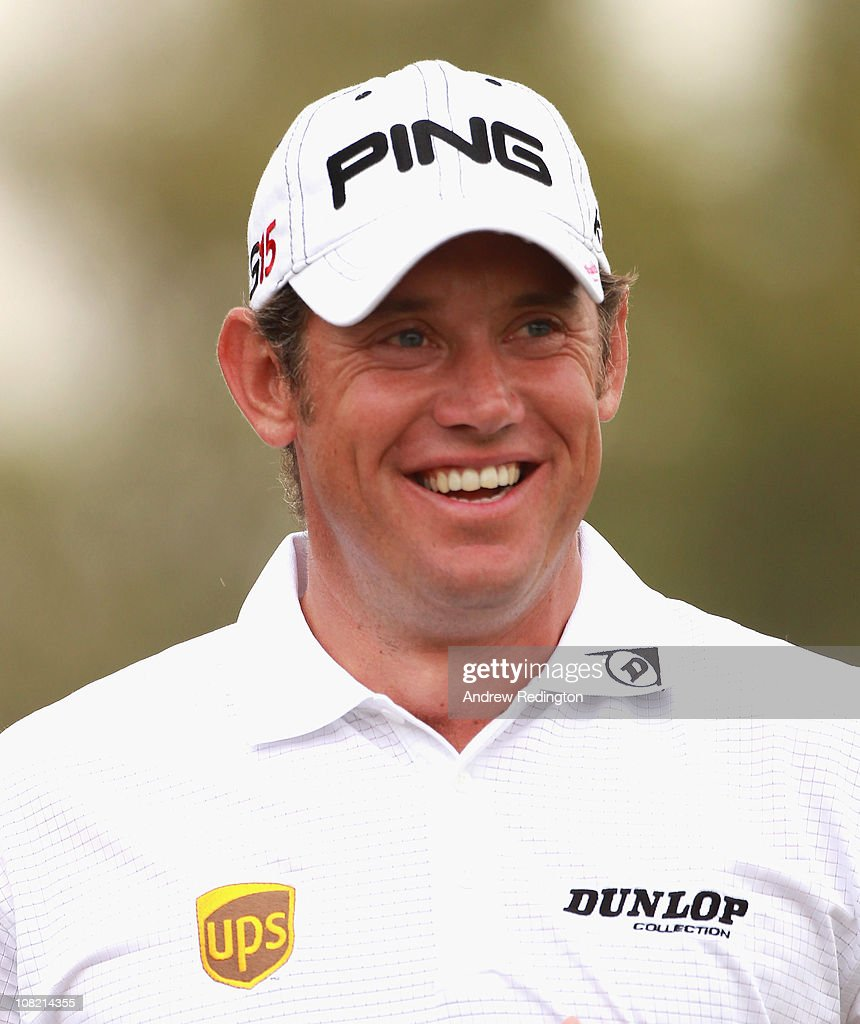<a gi-track='captionPersonalityLinkClicked' href=/galleries/search?phrase=Lee+Westwood&family=editorial&specificpeople=171611 ng-click='$event.stopPropagation()'>Lee Westwood</a> of England smiles during the second round of The Abu Dhabi HSBC Golf Championship at Abu Dhabi Golf Club on January 21, 2011 in Abu Dhabi, United Arab Emirates.