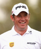 Lee Westwood of England smiles during the second round of The Abu Dhabi HSBC Golf Championship at Abu Dhabi Golf Club on January 21 2011 in Abu Dhabi...