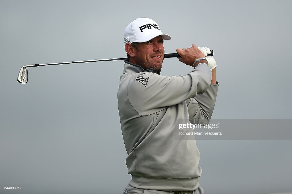<a gi-track='captionPersonalityLinkClicked' href=/galleries/search?phrase=Lee+Westwood&family=editorial&specificpeople=171611 ng-click='$event.stopPropagation()'>Lee Westwood</a> of England tees off on the 11th hole during the second round of the 100th Open de France at Le Golf National on July 1, 2016 in Paris, France.