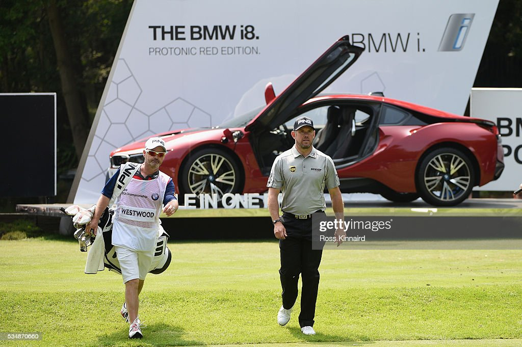 <a gi-track='captionPersonalityLinkClicked' href=/galleries/search?phrase=Lee+Westwood&family=editorial&specificpeople=171611 ng-click='$event.stopPropagation()'>Lee Westwood</a> of England walks down the 14th hole with caddie <a gi-track='captionPersonalityLinkClicked' href=/galleries/search?phrase=Billy+Foster+-+Caddy&family=editorial&specificpeople=12673088 ng-click='$event.stopPropagation()'>Billy Foster</a> during day three of the BMW PGA Championship at Wentworth on May 28, 2016 in Virginia Water, England.