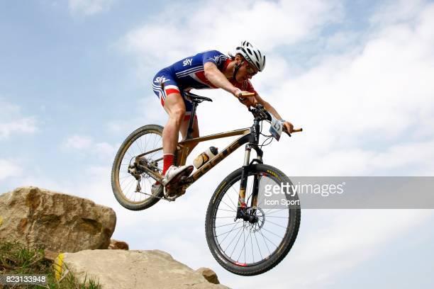 Lee Williams Competion Test de VTT a Hadleigh Farm Lieu de Competition des prochains Jeux Olympiques 2012 a Londres Hadleigh Country Park