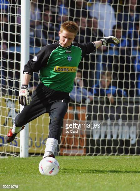 Lee Worgan of Wycombe Wanderers during the Nationwide Division Two match between Wycombe Wanderers and Swindon Town at Causeway Stadium on April 17...