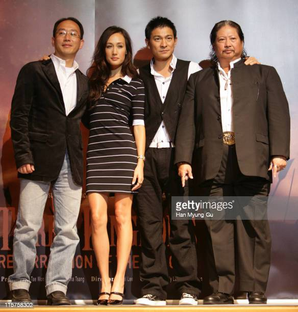 Lee YanKong director and Maggie Q AND Andy Lau and Sammo Hung