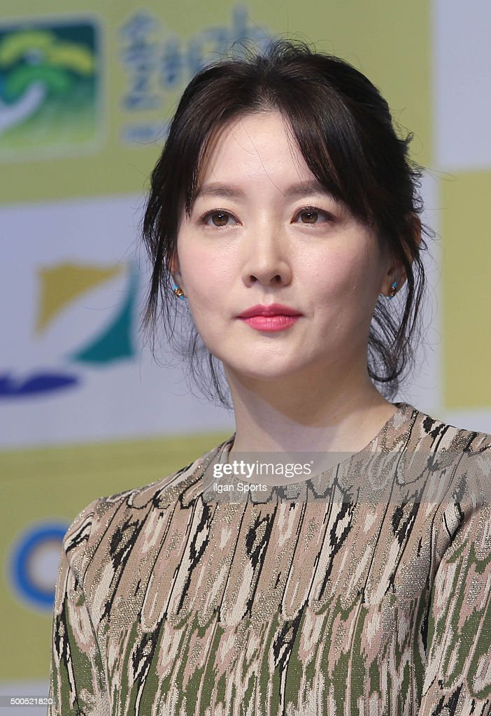 Lee Youngae attends SBS 'Saimdang the Herstory' press conference at Seamarq Hotel on November 30 2015 in Gangwondo South Korea