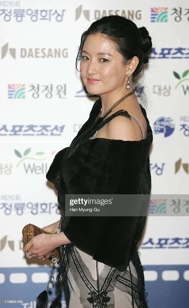 Lee YoungAe during 26th Annual Blue Dragon Film Awards Arrivals at Youido KBS Hall in Seoul South South Korea