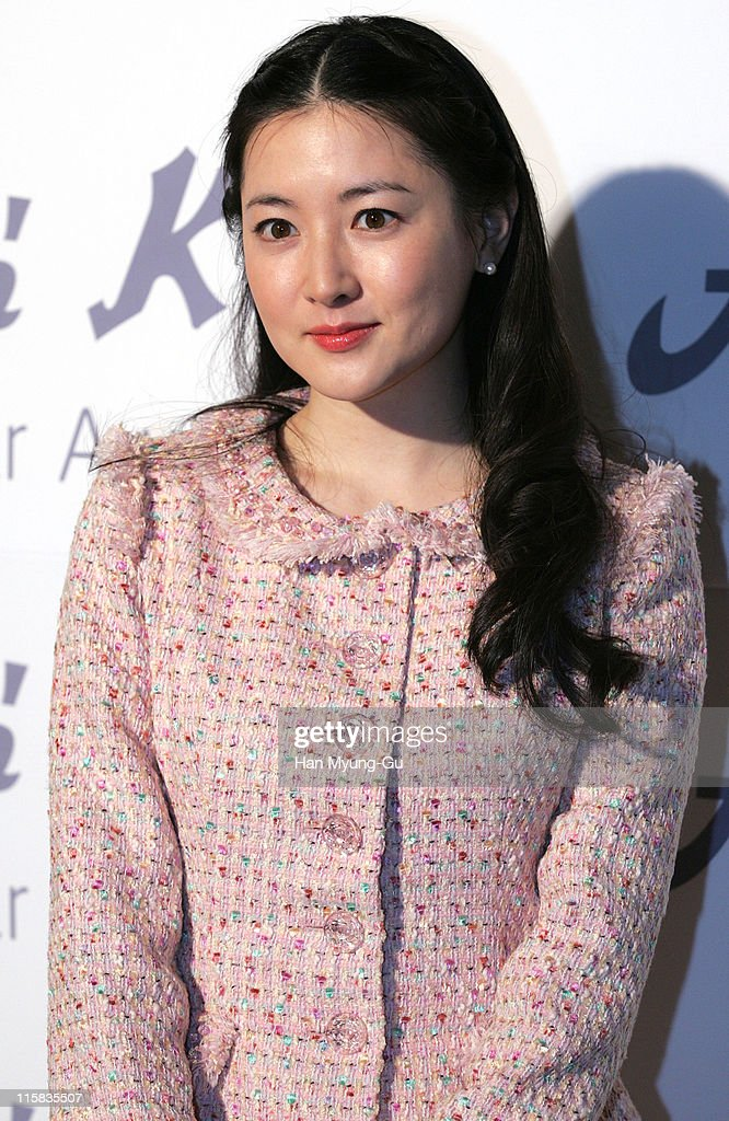 Lee YoungAe during 'Andre Kim' Best Actor Awards Arrivals at Grand Hyatt Hotel in Seoul City Seoul South Korea