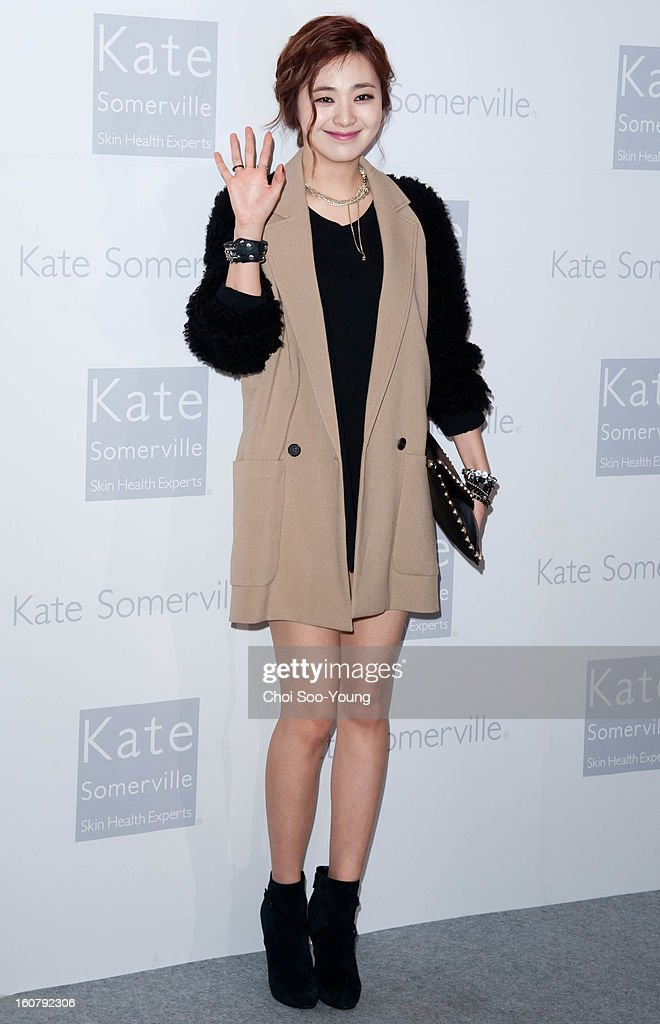 Lee Young-Eun attends the 'Kate Somerville' Launch Event at Park Hyatt Seoul on February 5, 2013 in Seoul, South Korea.