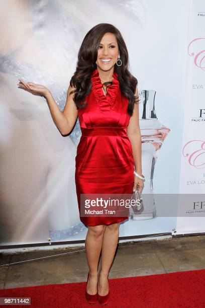 Leeann Tweeden arrives to the Eva Longoria Parker fragrance launch party for 'Eva' held at Beso on April 27 2010 in Hollywood California