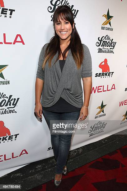 Leeann Tweeden attends the Boot Campaign's Comedy Boot Jam at The Improv on October 28 2015 in Hollywood California