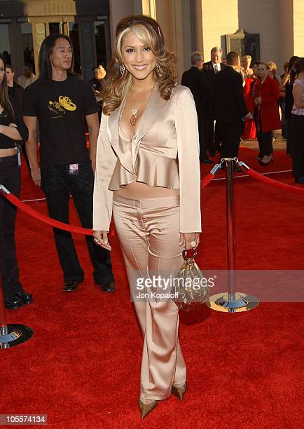 Leeann Tweeden during 32nd Annual American Music Awards Arrivals at Shrine Auditorium in Los Angeles California United States