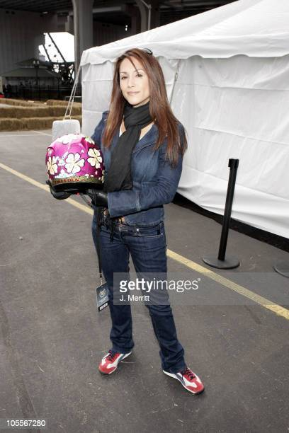 Leeann Tweeden during 3rd Annual Cadillac Super Bowl Grand Prix for Charity at CSX in Jacksonville Florida United States