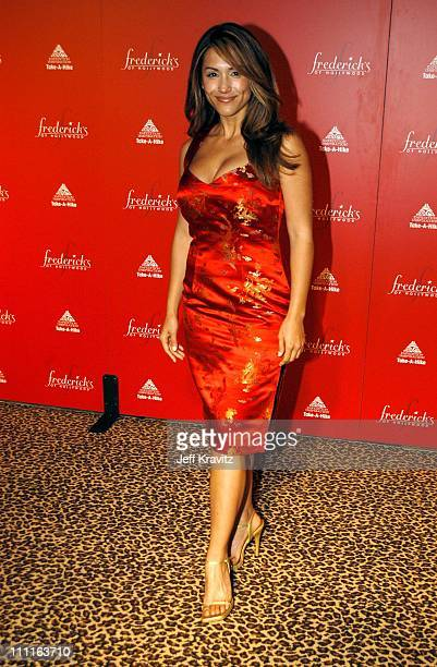 LeeAnn Tweeden during Frederick's of Hollywood Debuts Fall 2003 Collection at Smashbox Studios in Culver City CA United States