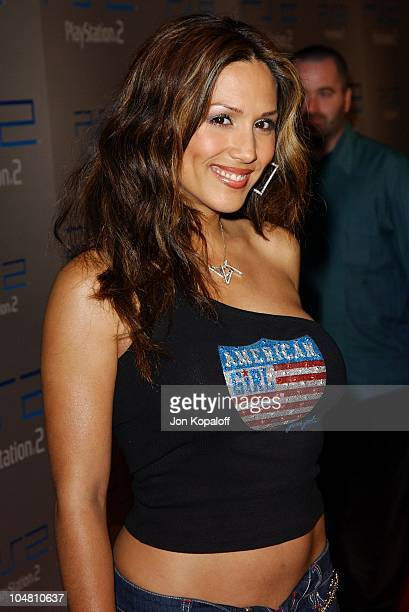 Leeann Tweeden during Playstation 2 E3 Party 'Playa Del Playstation' Arrivals at Viceroy Hotel in Santa Monica CA United States