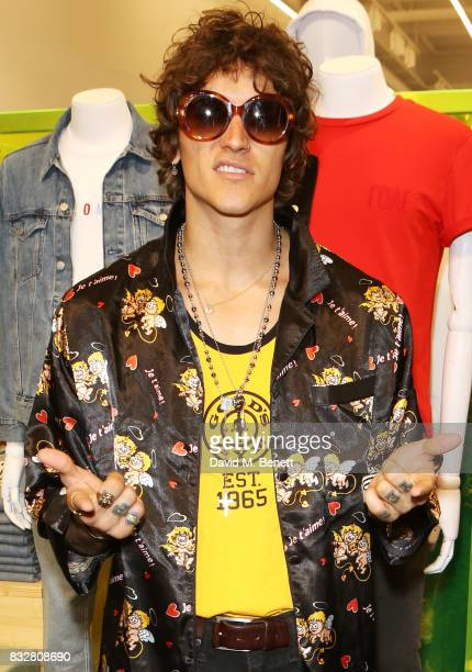 Leebo Freeman attends the Weekday store launch on August 16 2017 in London England