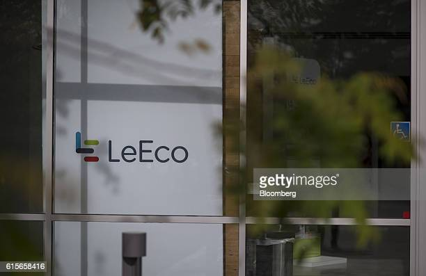 LeEco Global Group signage is displayed at the company's headquarters in San Jose California US on Thursday Oct 13 2016 LeEco is bringing its version...