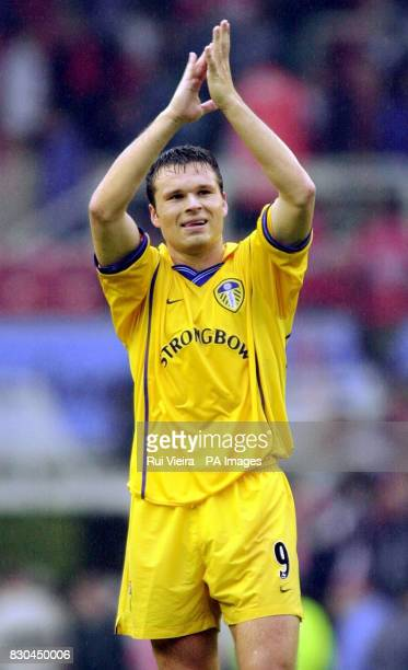 LEAGUE Leed United's Mark Viduka in action against Middlesbrough during their FA Premiership football match at the Riverside Stadium in Middlesbrough