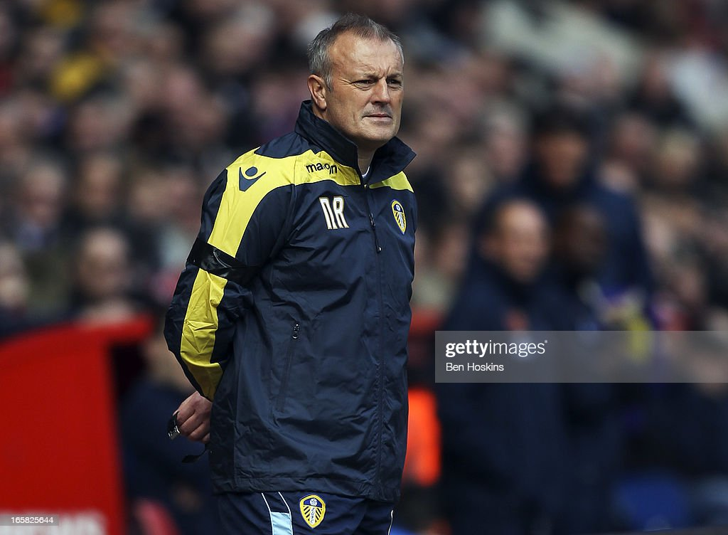 Leeds caretaker manager Neil Redfearn looks on during the npower Championship match between Charlton Athletic and Leeds United at the Valley on April 06, 2013 in London, England.