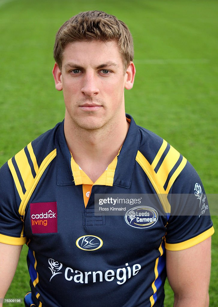 Leeds Carnegie Portrait Session. Andy Boyde of Leeds during a photo call at the Headingley Carnegie Stadium on August 20,2007 in Leed, England.