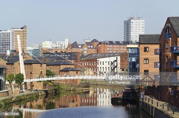 Leeds Liverpool Canal, Brewery Wharf, Leeds, Yorkshire, England