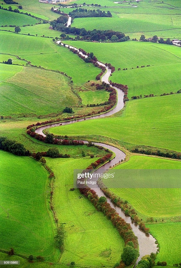 Leeds Liverpool canal : Stock Photo