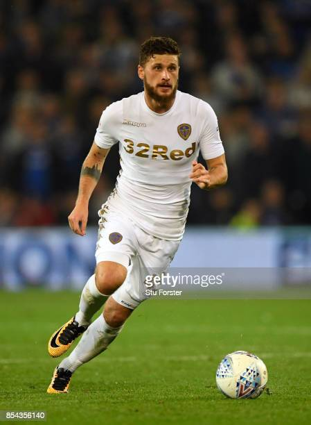 Leeds player Mateusz Klich in action during the Sky Bet Championship match between Cardiff City and Leeds United at Cardiff City Stadium on September...