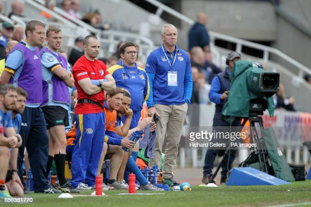 Leeds Rhinos head coach Brian McDermott during day two of the Betfred Super League Magic Weekend at St James' Park Newcastle