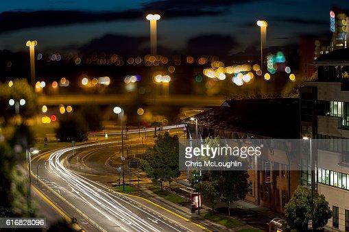 Leeds Skyline : Stock Photo
