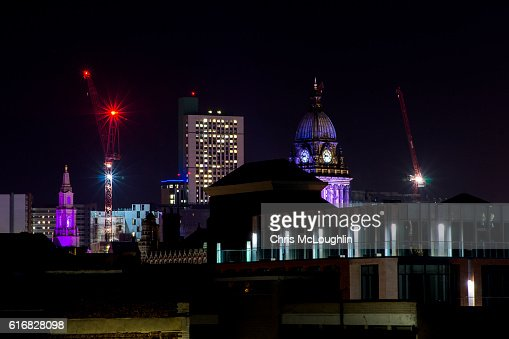 Leeds Skyline : Stock Photo