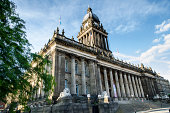 Leeds Town Hall, Leeds, West Yorkshire, England