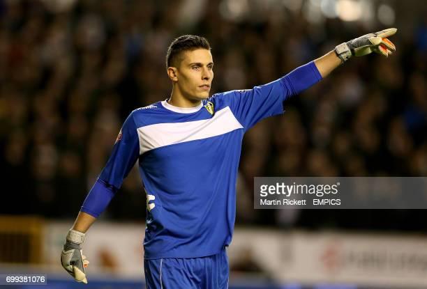 Leeds United goalkeeper Marco Silvestri