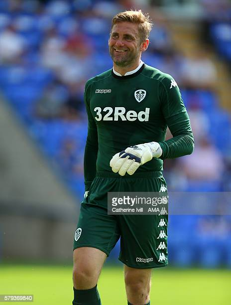 Leeds United goalkeeper Robert Green during the PreSeason Friendly match between Peterborough United and Leeds United at London Road Stadium on July...