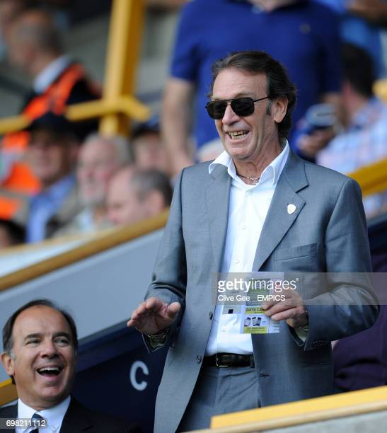 Leeds United owner Massimo Cellino during the Sky Bet Championship match at the New Den London