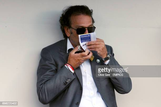 Leeds United owner Massimo Cellino