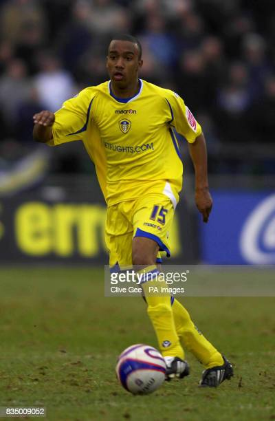 Leeds United's Fabian Delph during the CocaCola Football League One match at the Withdean Stadium Brighton