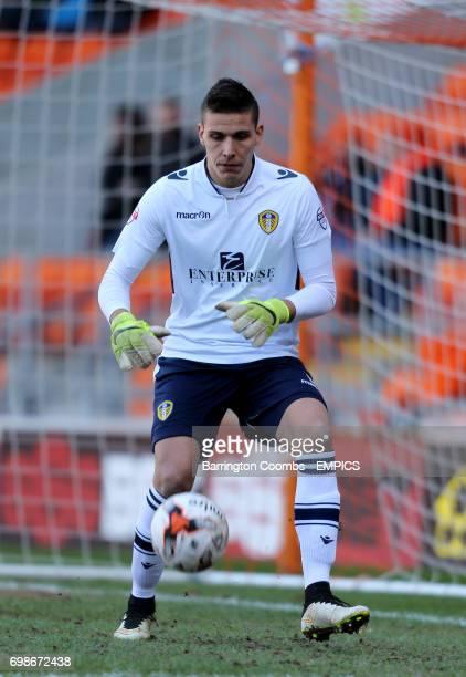 Leeds United's Marco Silvestri