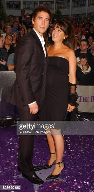 Leeds Utd footballer Harry Kewell with wife actress Sheree Murphy at the British Soap Awards 2003 at BBC Television Centre in west London The awards...