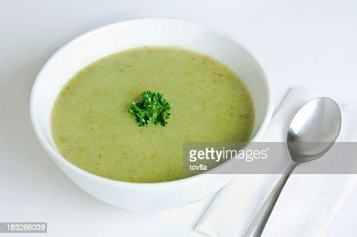 ネギとポテトスープ