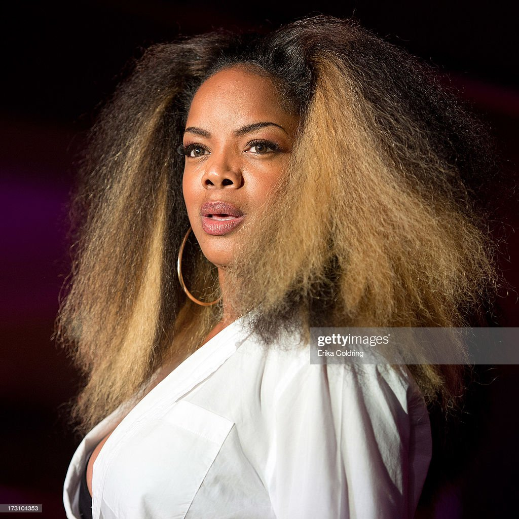<a gi-track='captionPersonalityLinkClicked' href=/galleries/search?phrase=Leela+James&family=editorial&specificpeople=555484 ng-click='$event.stopPropagation()'>Leela James</a> performs during the 2013 Essence Festival at the Mercedes-Benz Superdome on July 6, 2013 in New Orleans, Louisiana.
