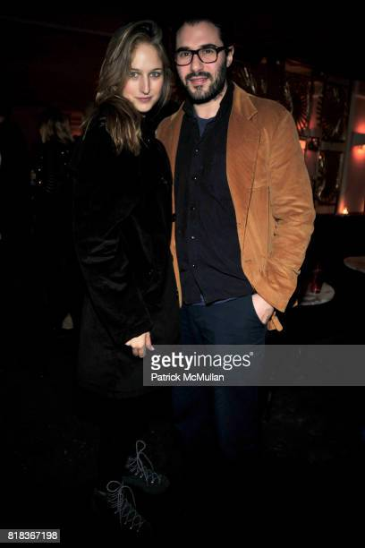 Leelee Sobieski and Adam Kimmel attend The Purple Fashion Magazine Dinner at Kenmare on February 14 2010 in New York City