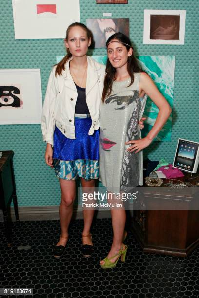 Leelee Sobieski and Arden Wohl attend THE ENDANGERED SPECIES COALITION Fundraiser For The Gulf Pelicans at The Wooly on July 28 2010 in New York City