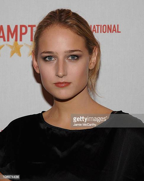 Leelee Sobieski arrives at the Hamptons Film Festival Screening The Elder Son Red Carpet at the United Artists Theater in East Hampton New York...