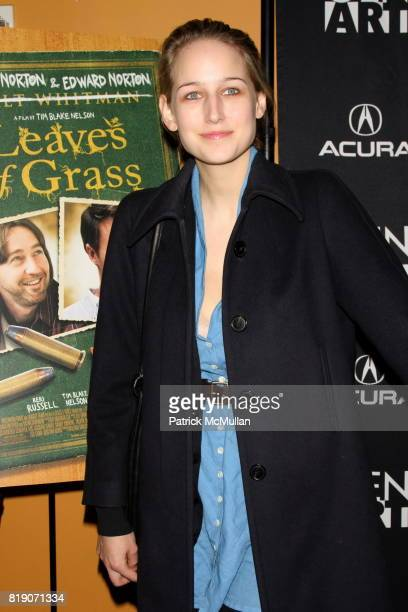 Leelee Sobieski attends Special Screening of 'LEAVES OF GRASS' at Sunshine Cinema on March 25 2010 in New York