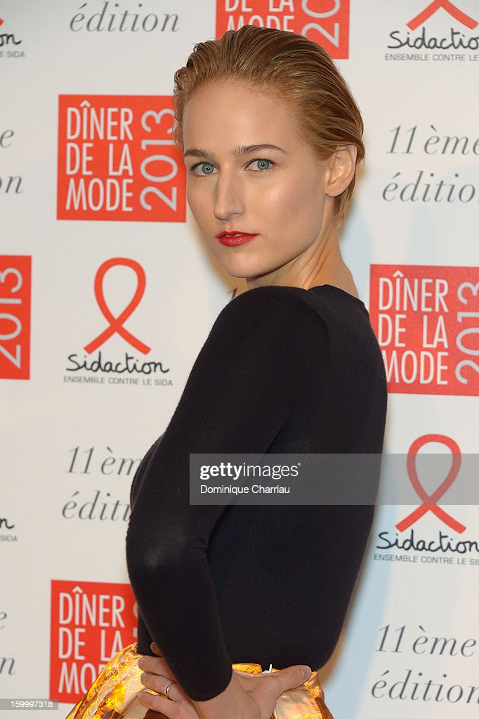 Leelee Sobieski attends the Gala Dinner 2013 at Pavillon d'Armenonville on January 24, 2013 in Paris, France.