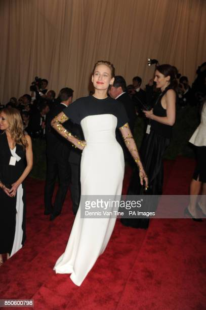 Leelee Sobieski attends the 'Punk' Chaos to Couture' Costume Institute Benefit Met Gala at the Metropolitan Museum in New York