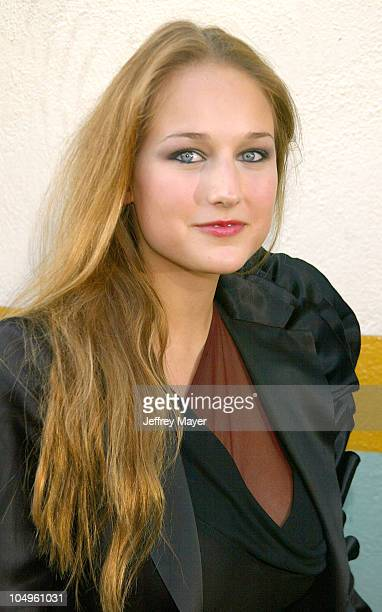 Leelee Sobieski during AMC Movieline's Hollywood Life Magazine's Young Hollywood Awards 2003 at El Rey Theatre in Los Angeles California United States