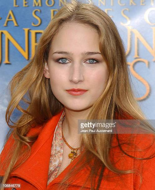 Leelee Sobieski during 'Lemony Snicket's A Series of Unfortunate Events' Los Angeles Premiere Arrivals at Cinerama Dome in Hollywood California...